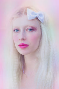 Pastel Glitter Hair Bows- AVAILABLE IN 8 COLOURS