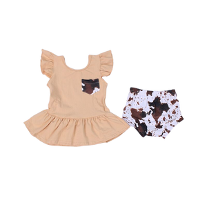 Cow Hide Set W/ FREE BOW
