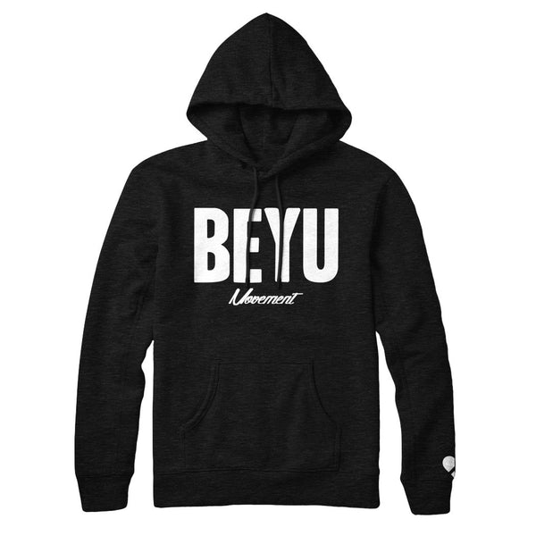 BEYU Pullover - Black - The BEYU Movement
