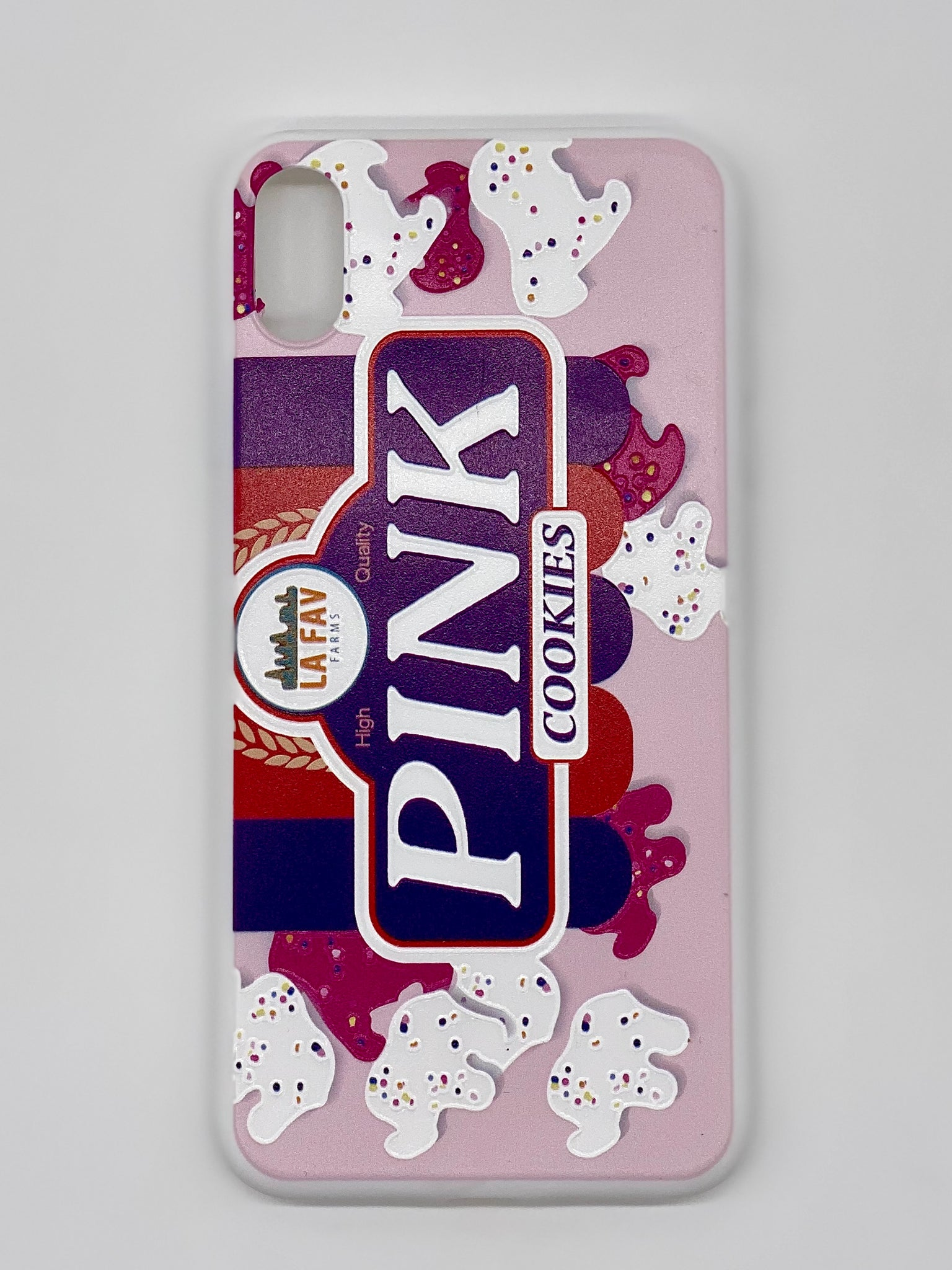 Pink Cookies iPhone Case