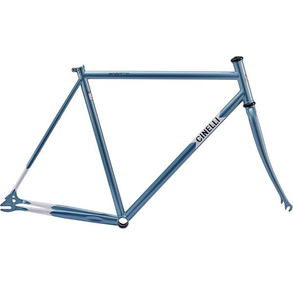 FRAME SET GAZZETTA LIGHT BLUE - BikesonBikes