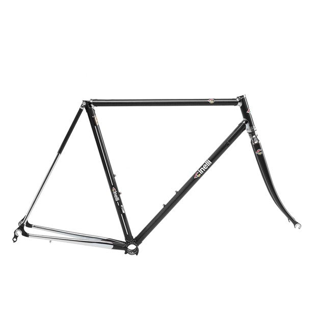Cinelli Supercorsa Frame Set - Black Tie - BikesonBikes