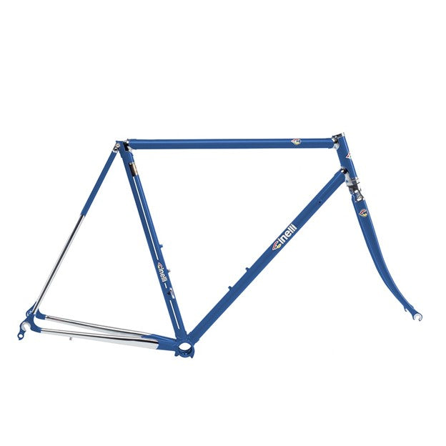 Cinelli Supercorsa Frameset - Blue China - BikesonBikes