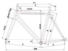 Load image into Gallery viewer, Cinelli Vigorelli Steel Track Frameset - BikesonBikes