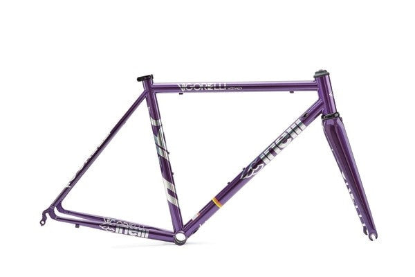 Cinelli Vigorelli Road Steel Purple Heart Frameset - BikesonBikes