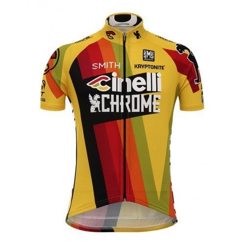 2017 TEAM CINELLI CHROME TRAINING JERSEY - BikesonBikes