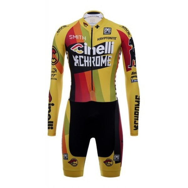 2017 TEAM CINELLI CHROME SKINSUIT - BikesonBikes