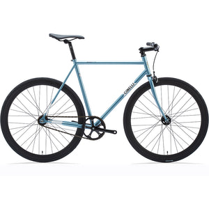 Cinelli Gazzetta Complete Fixed Gear Bike - Blue XS - BikesonBikes