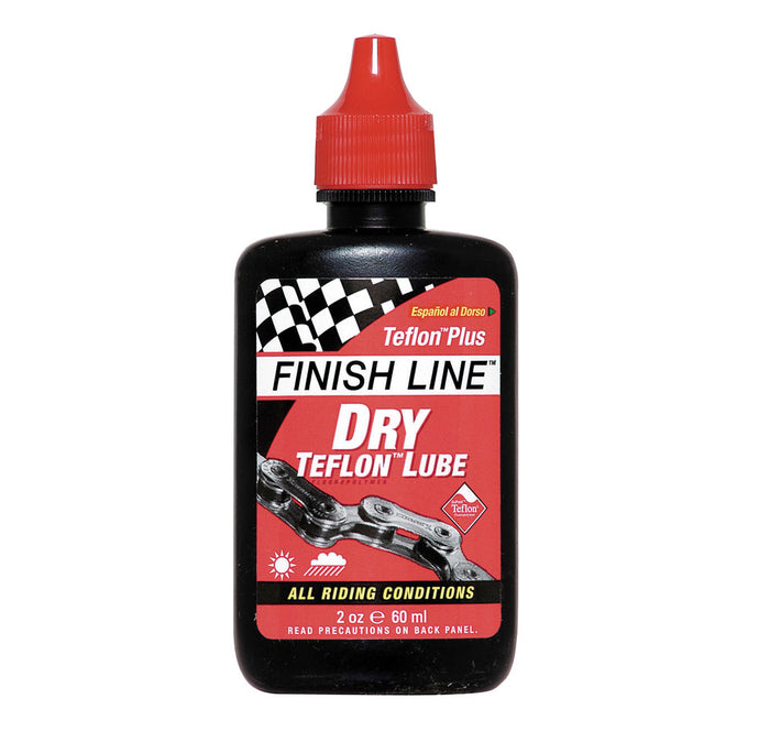 Finish Line Dry Teflon Lubricant & Oil - 2 oz bottle - BikesonBikes