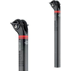 SEAT POST NEOS CARBON BLACK - 31,6