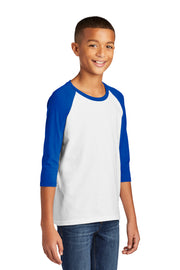 Gildan 5700B Heavy Cotton Youth 3/4-Sleeve Raglan