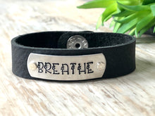 Load image into Gallery viewer, Breathe Leather Bracelet