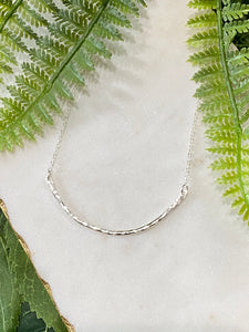 Arch Necklace - Silver
