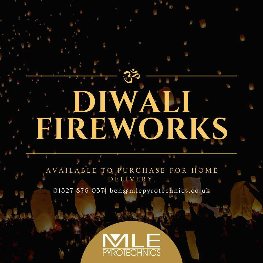 Diwali 2020 - Fireworks on Saturday 14th November