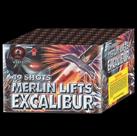 Merlin Lifts Excalibur