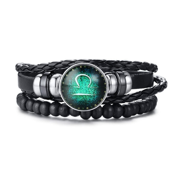Zodiac Leather Stack