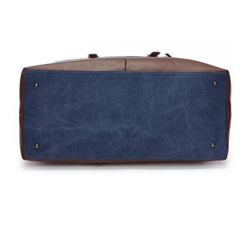 Lima Duffle <br>Canvas/Leather Bag