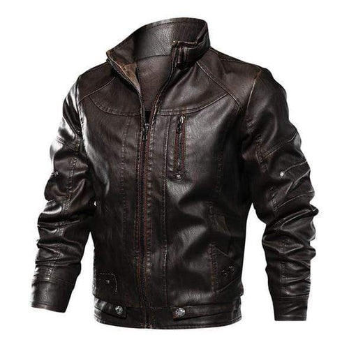 Ezra <br>Leather Jacket