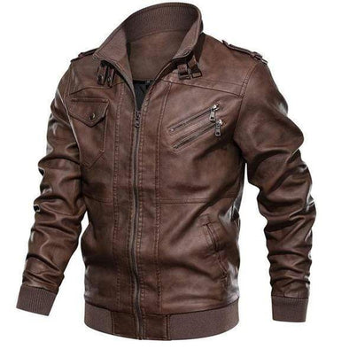 Brock <br> Leather Jacket