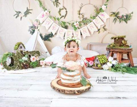 Katebackdrop:Kate Spring Flowers Camping Children Backdrop for Photography Designed by Mandy Ringe Photography