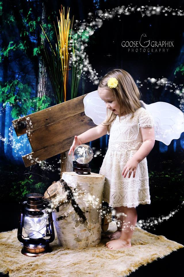 Katebackdrop£ºKate Green Magic Forest Easter Spring Backdrop photography