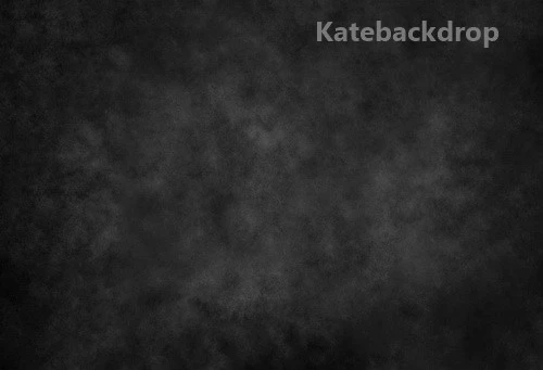Katebackdrop£ºKate Abstract Texture Dark Black Gray Backdrop for Portrait