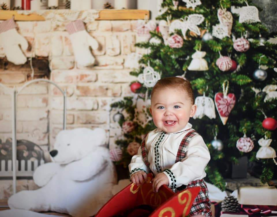 Katebackdrop:Kate Tree Gift White Wall Backdrop for Christmas Photography