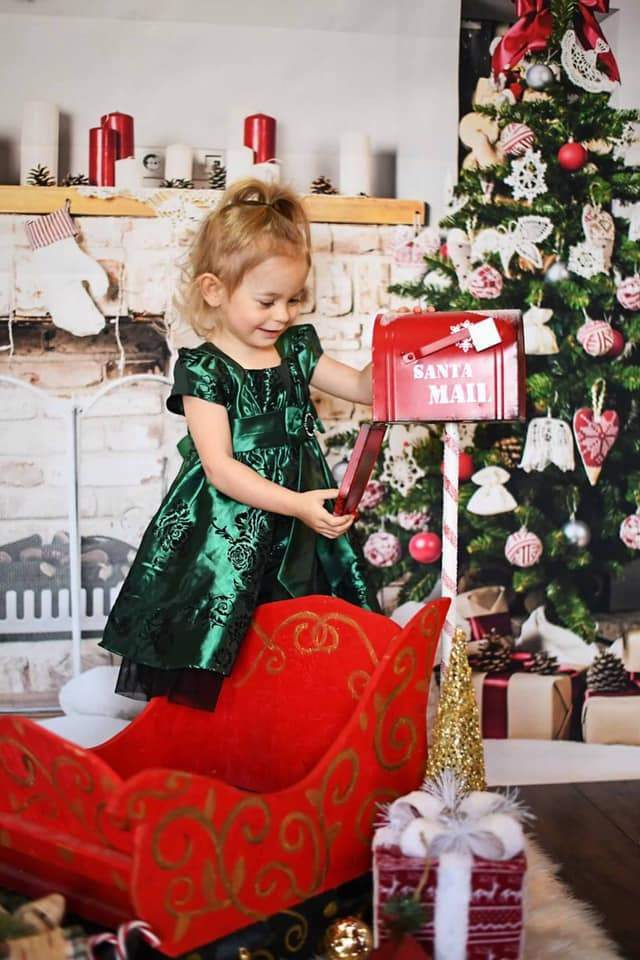 Cargar imagen en el visor de la galería, Katebackdrop:Kate Tree Gift White Wall Backdrop for Christmas Photography