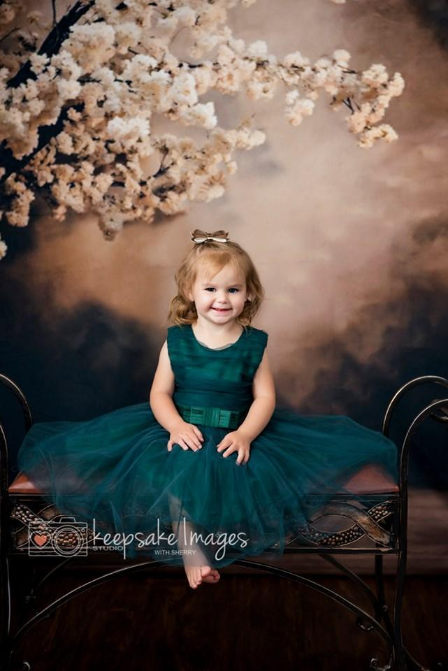 Katebackdrop:Kate Abstract Background With Flowers Backdrops for Photography