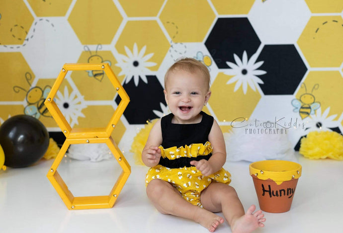 Katebackdrop:Kate Bumble Bee Summer Backdrop for Photography Designed by Megan Leigh Photography