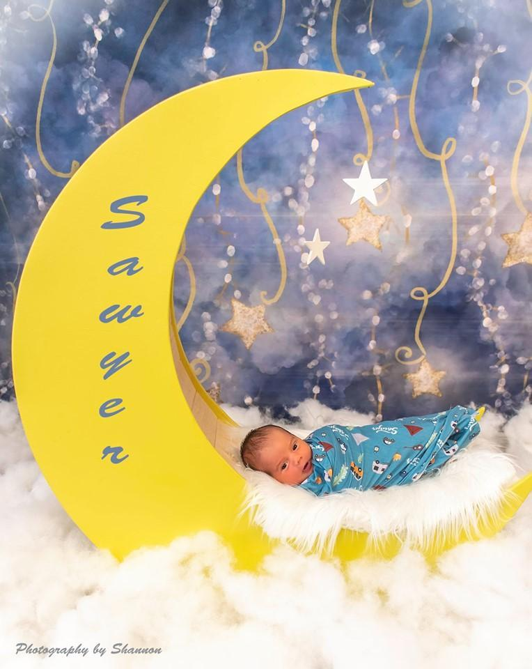 Cargar imagen en el visor de la galería, Katebackdrop£ºKate Starry Night Light Star Backdrop for Photography Designed by Modest Brushes