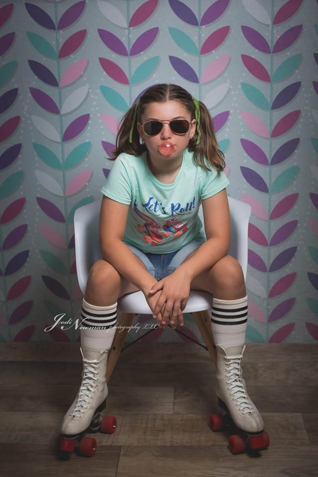 Cargar imagen en el visor de la galería, Katebackdrop£ºKate Seamless Leaves Pattern for Girls Backdrop Designed By Krystle Mitchell Photography