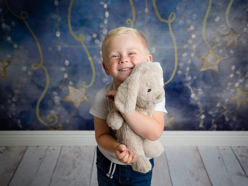Katebackdrop£ºKate Starry Night Light Star Backdrop for Photography Designed by Modest Brushes