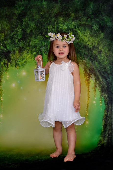 Katebackdrop:Kate Fantasy Forest Scenery Backdrop Cricle Tree Children Dreamlike