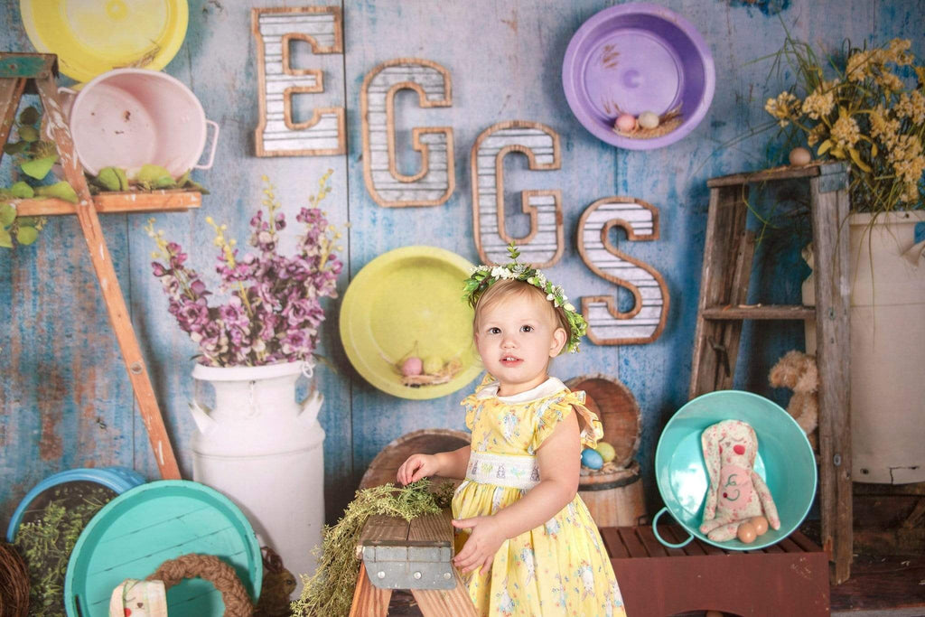Katebackdrop£ºKate Egg-celent Easter Backdrop designed by Arica Kirby