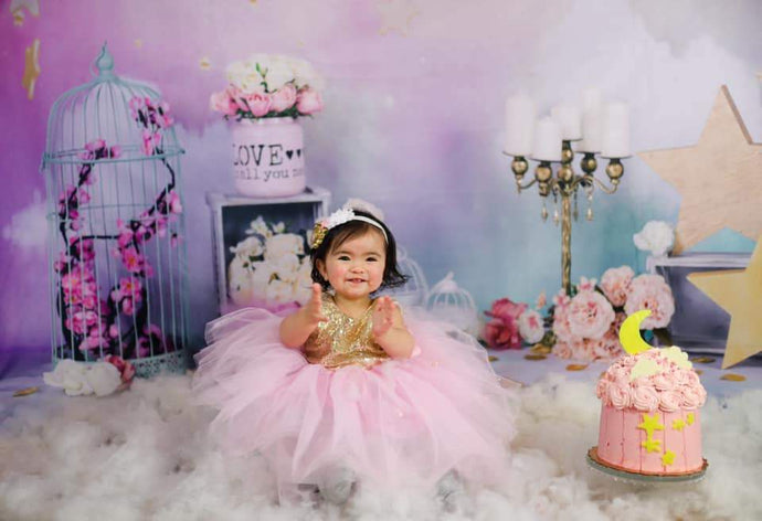 Katebackdrop:Kate Fantastic Cake smash birthday Backdrop for Photography designed by Studio Gumot
