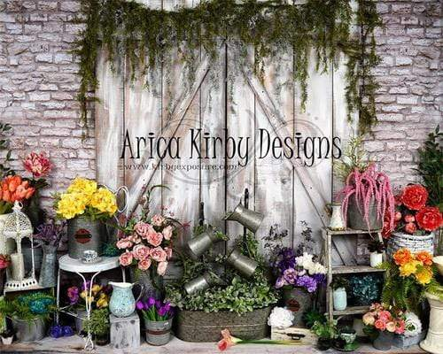 Katebackdrop:Kate Spring Blooms Flower Decorations Backdrop Designed By Arica Kirby