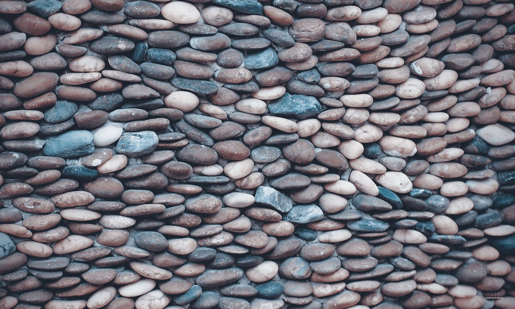 Kate Alfombrilla de goma Pebbles Stone