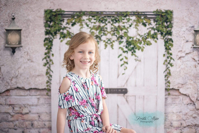Katebackdrop:Kate Spring/Easter Barn Door Backdrop for Photography