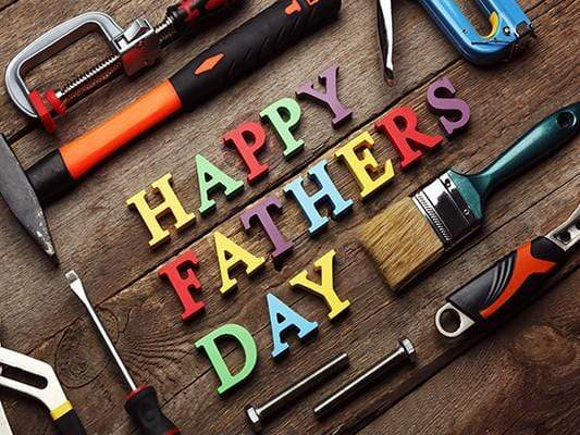 Katebackdrop£ºKate Happy Father'S Day Colorful Wood Letter Vintage Background For Studio