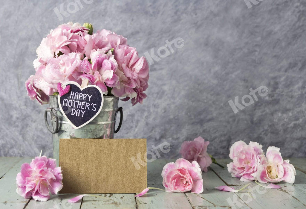 Katebackdrop:Kate Pink Flowers Mother's Day Backdrop for Photography