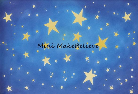 Cargar imagen en el visor de la galería, Katebackdrop£ºKate Baby Skies Shiny Stars Backdrop for Photography Designed by Mini MakeBelieve
