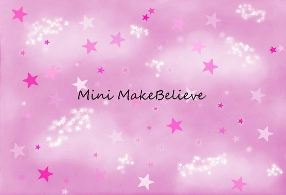 Katebackdrop£ºKate Soft Skies Pink Stars Backdrop for Photography Designed by Mini MakeBelieve