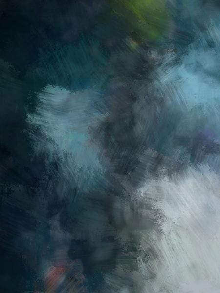 Katebackdrop£ºKate Blue Texture Abstract Brushed Liked Type Backdrop