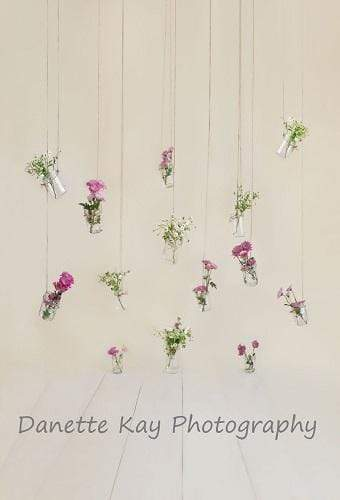 Katebackdrop£ºKate Mothers Day Mason Jar Floral Backdrop Designed by Danette Kay Photography
