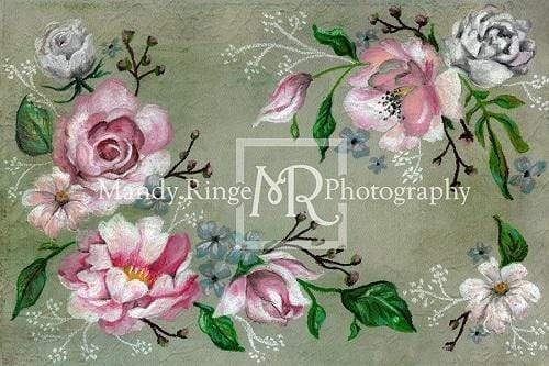 Katebackdrop£ºKate Fine Art Pink Floral Backdrop Designed By Mandy Ringe Photography