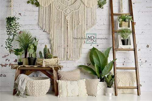 Katebackdrop£ºKate Boho Macrame Birthday Backdrop Designed By Mandy Ringe Photography