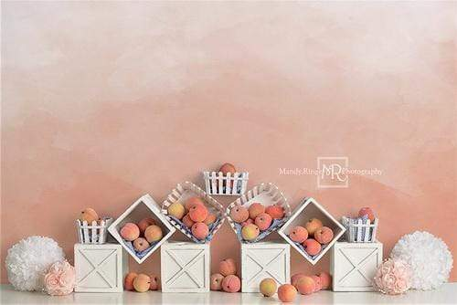 Katebackdrop:Kate Summer Peaches and Cream Backdrop for Children Designed By Mandy Ringe Photography