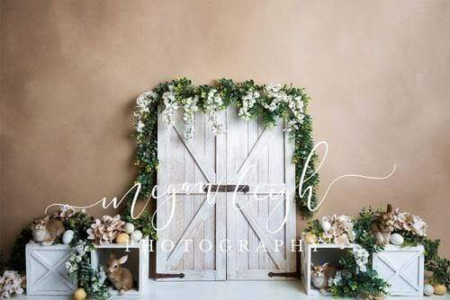 Katebackdrop£ºKate Spring\Easter Neutral Bunnies Backdrop Designed by Megan Leigh Photography