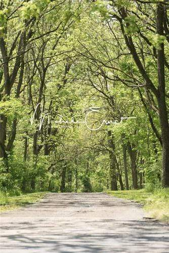 Katebackdrop£ºKate Spring Forest Road Backdrop Designed by Michele Ernst Photography